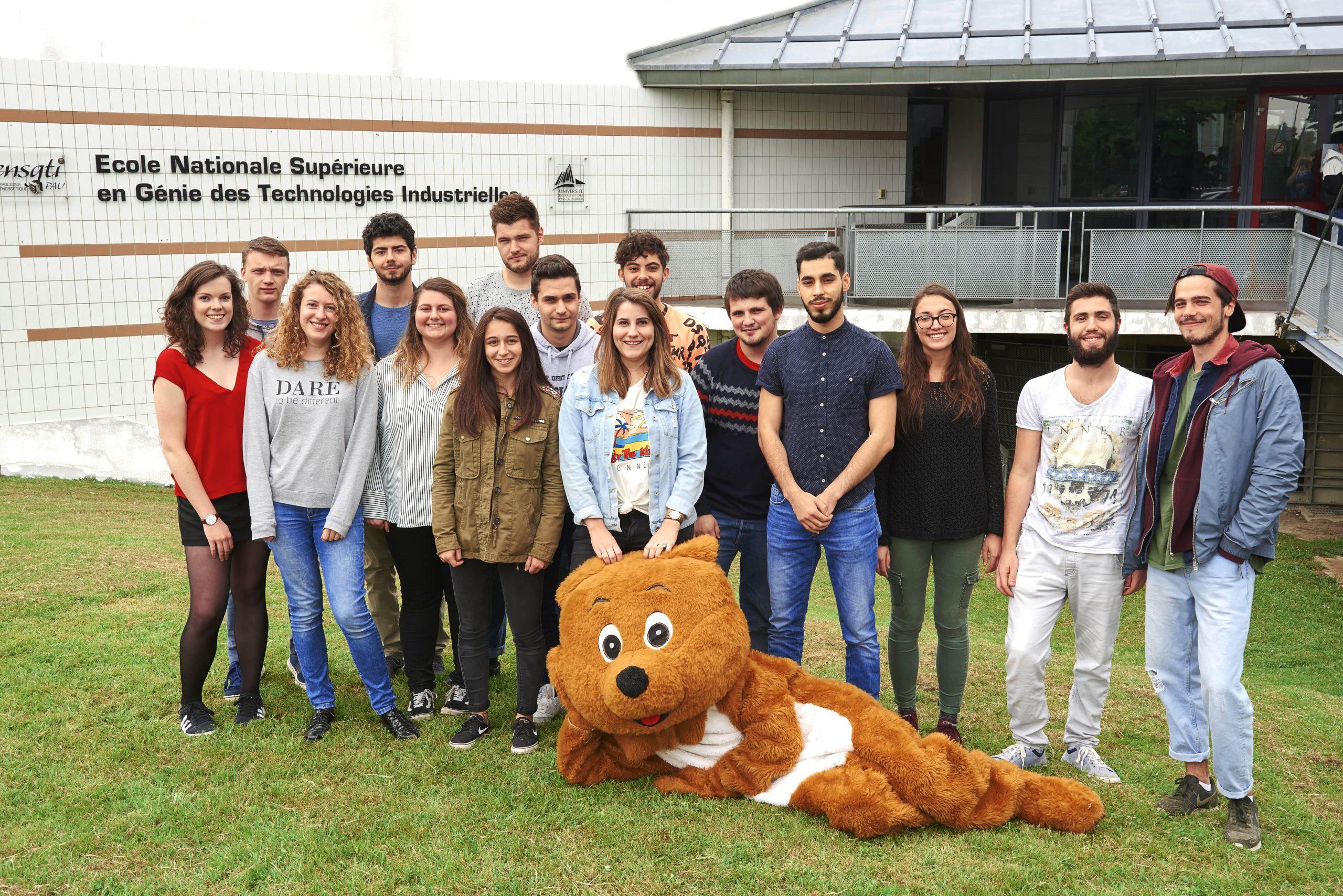 Bureau des élèves ENSGTI 2018-2019