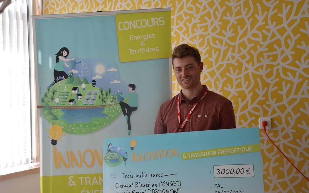 Clément Bleuet récompensé au concours « Energie et territoire »