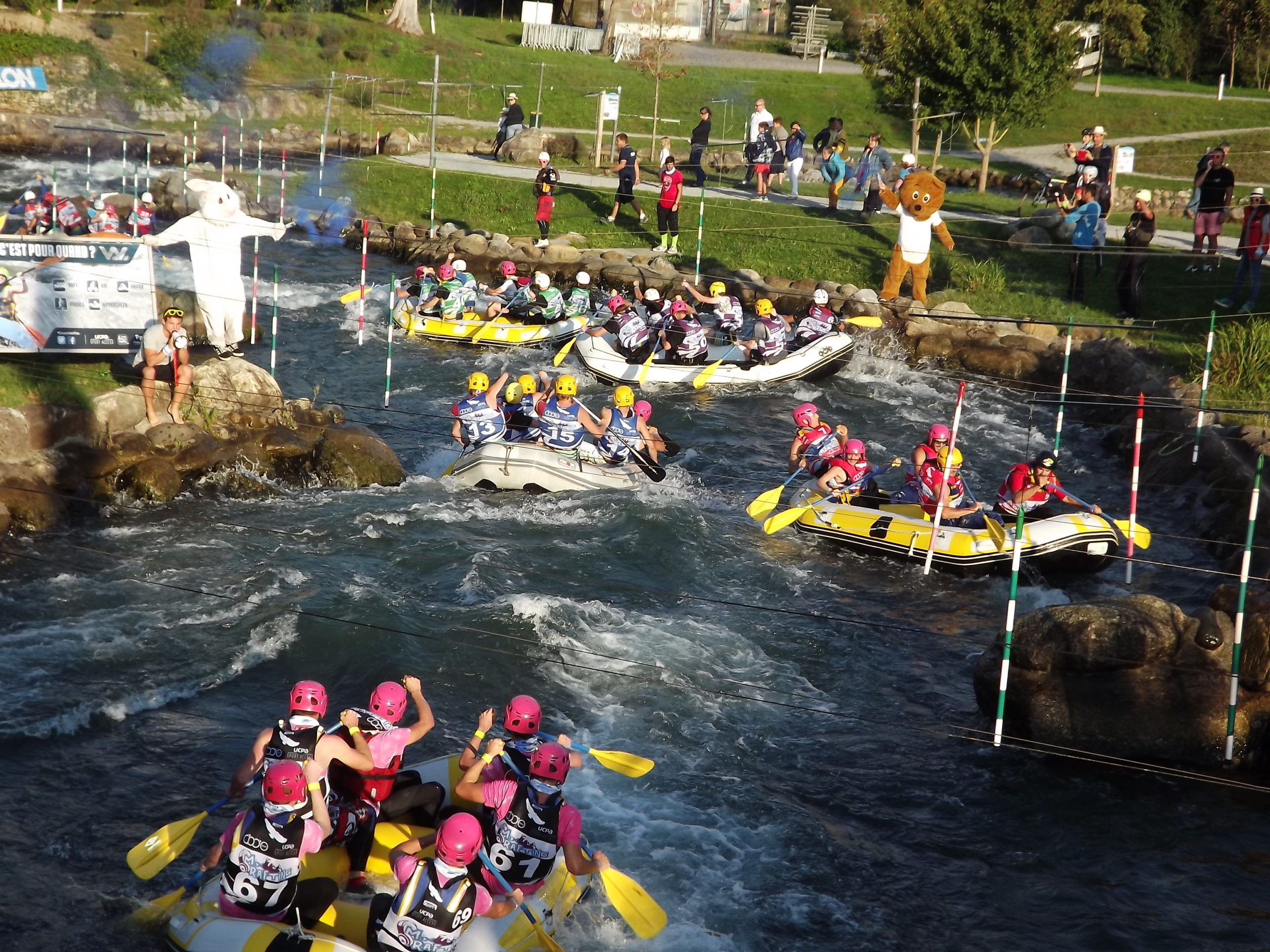 Octobre : le Mix and rafting