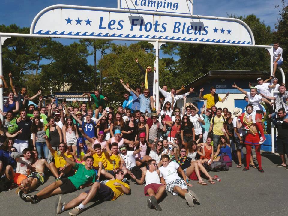 Week-end d'intégration au camping des Flots Bleus