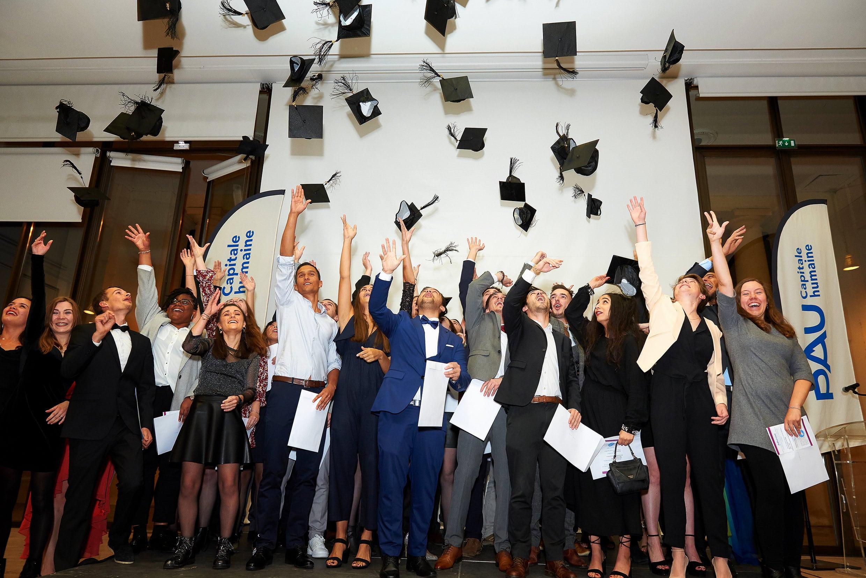 Remise des diplômes de l'ENSGTI