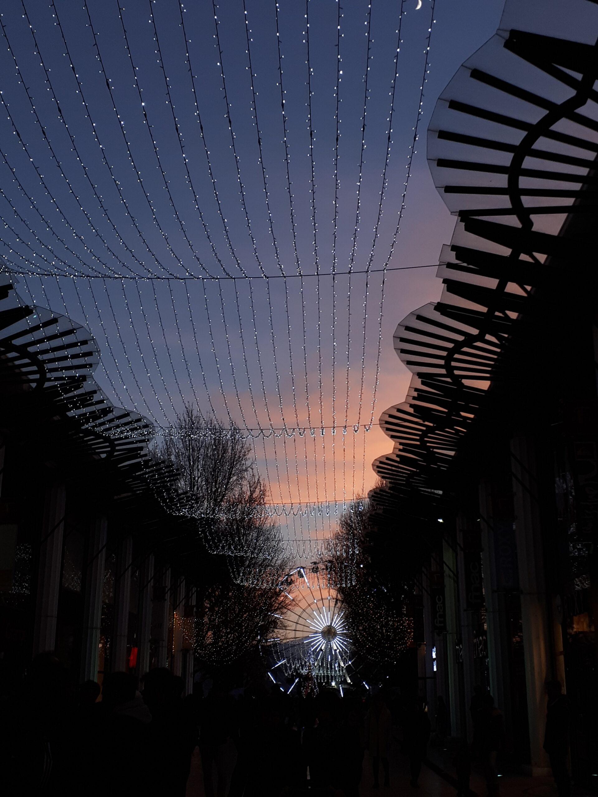 Illuminations de Noël à Pau