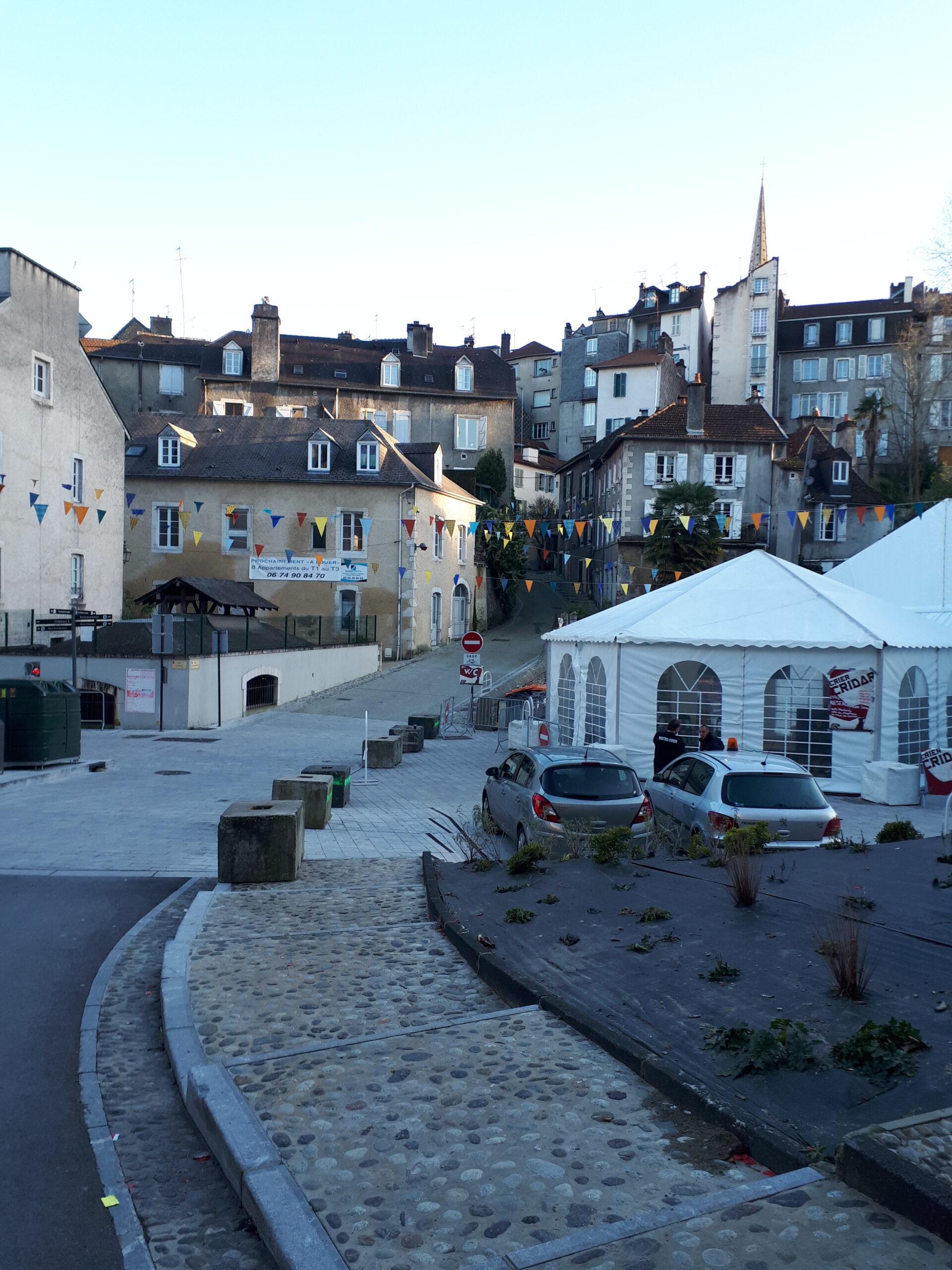 Quartier du Hédas à Pau