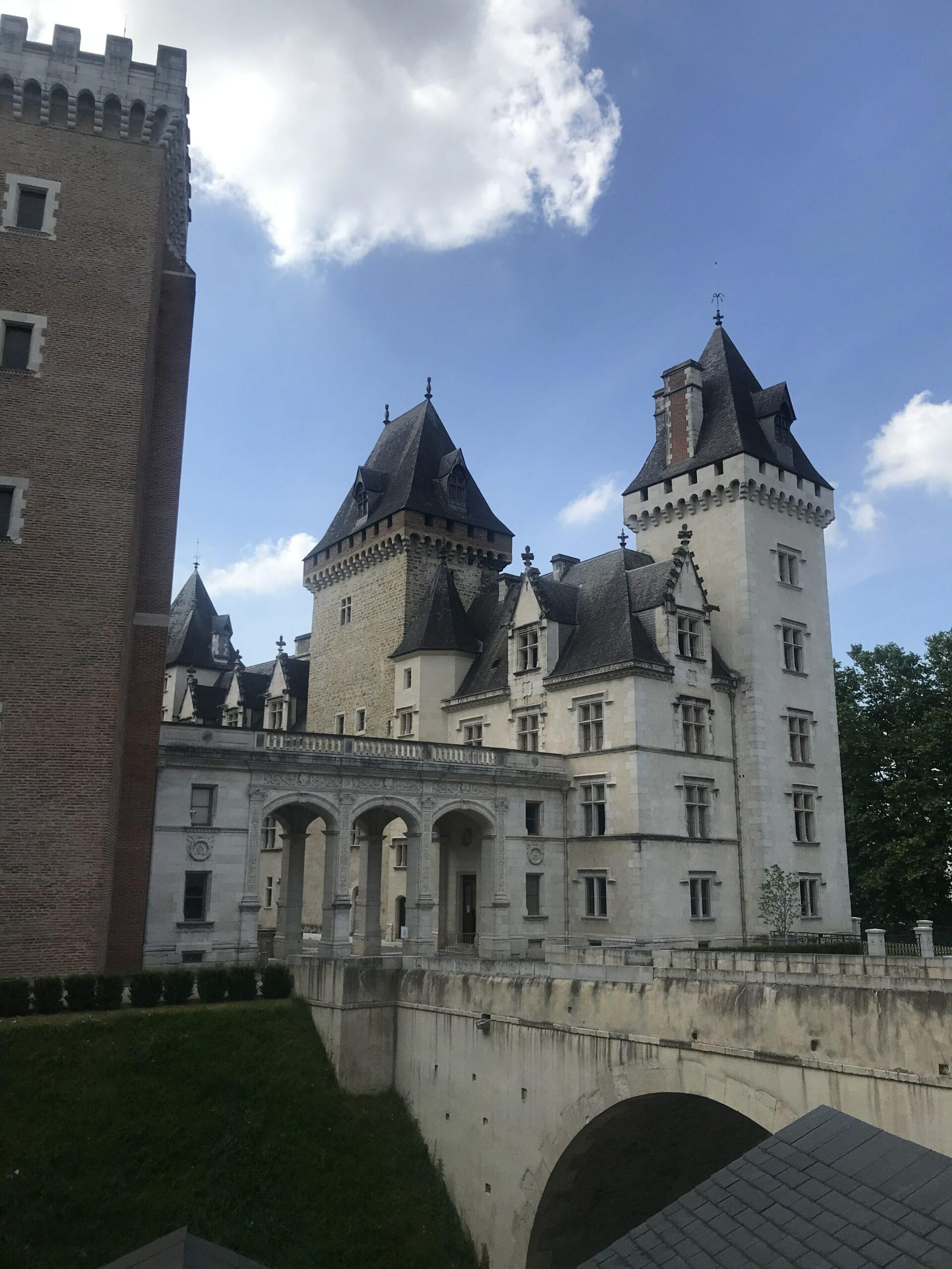 Entrée du chateau de Pau